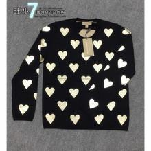 意大利正品代购BURBERRY 博柏利格纹开襟女士开衫外套39589041