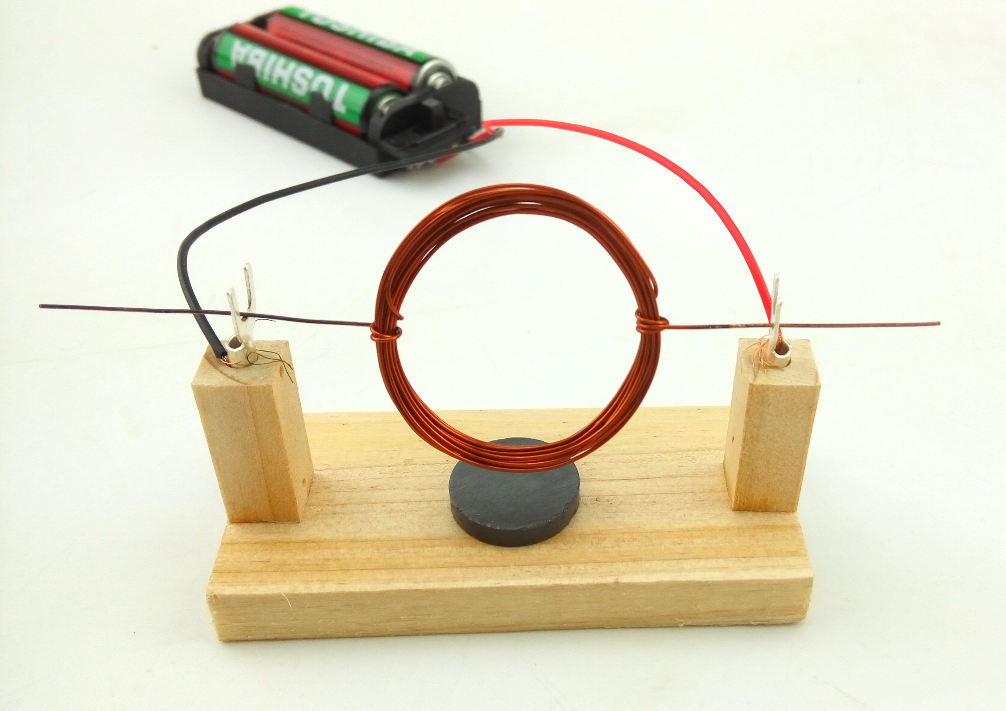 diy学生手工科技学小制作发明物理实验自制电动机发动机