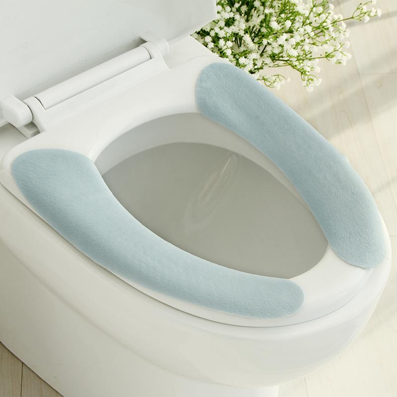 日本fasola马桶垫马桶座圈马桶套坐便器四季坐垫密吸粘贴式可水洗