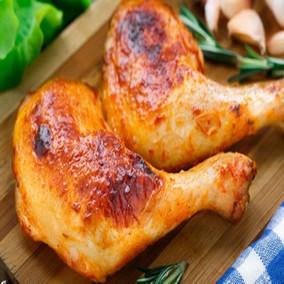 新奥尔良风味烤鸡腿1kg5个KFC烤鸡全腿手枪腿微波烧烤油炸小吃