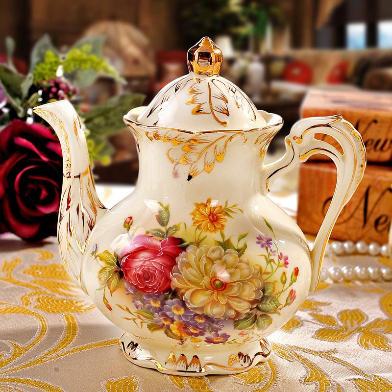 实用欧式咖啡具套装陶瓷茶具杯骨瓷高档新结婚礼物品