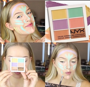 NYX COLOR CORRECTING PALETTE 6
