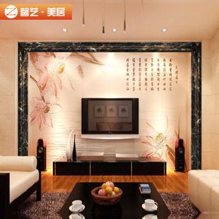 仿大理石线条瓷砖腰线石塑门套线电视背景墙装饰边框12cm踢脚线