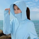 防晒衣女2017夏季新款中长款防紫外线韩版骑车户外服长袖薄款外套
