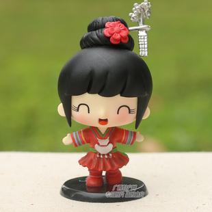 【小侗娃】广西侗族服装服饰 特色民族卡通娃娃 家居饰品/摆设