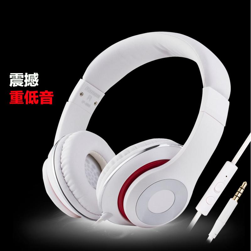 kanen/卡能 IP-980音乐手机头戴式耳机电脑耳麦带麦克风重低音 女
