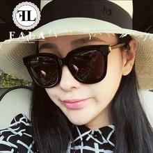 法拉新款偏光太阳镜墨镜女潮2016韩国圆脸复古个性明星款网红眼镜