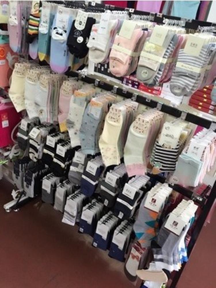 袜子货架展示架落地多功能饰品架手套架丝袜展示架内衣裤中岛货架