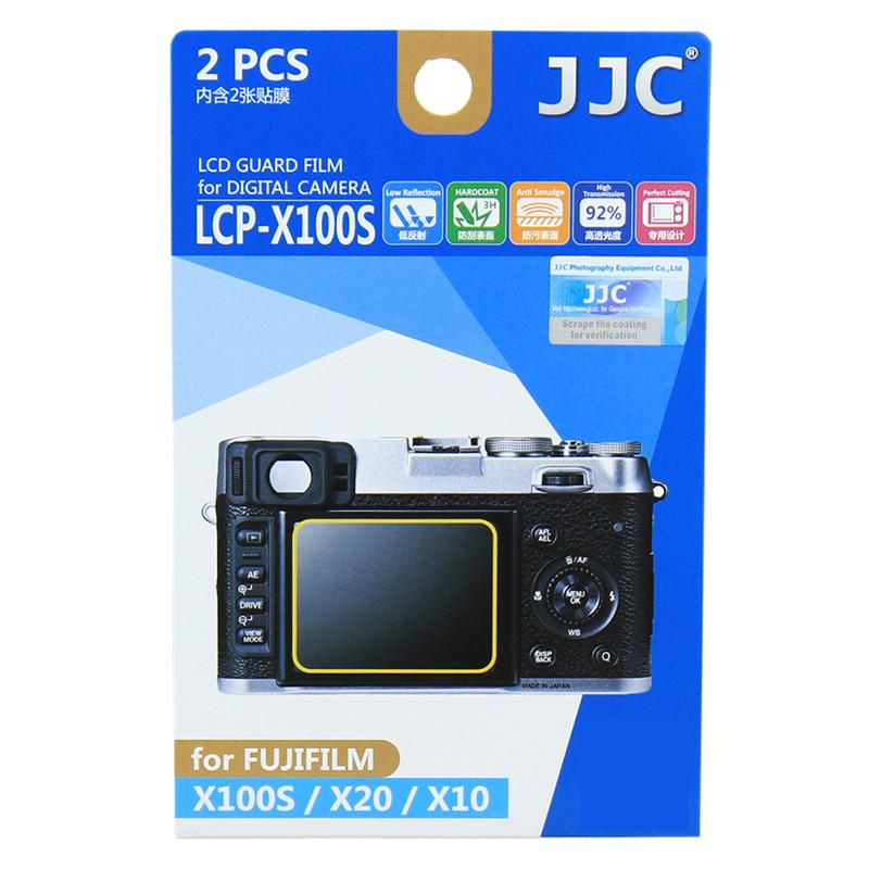 JJC 2片螢幕貼 適用富士 x100 x100s x20 x10 x-e1/高畫質/保護貼