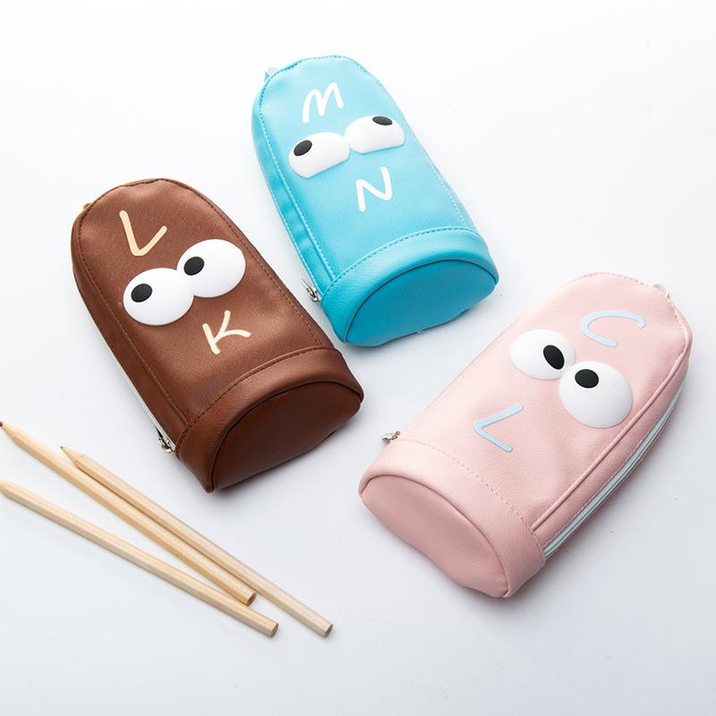 中学生容量韩国创意清新笔袋日女孩文具盒简约铅笔盒