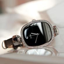 【天天特价】大气OL水钻聚利时皮带气质女士手表皮带防水石英表