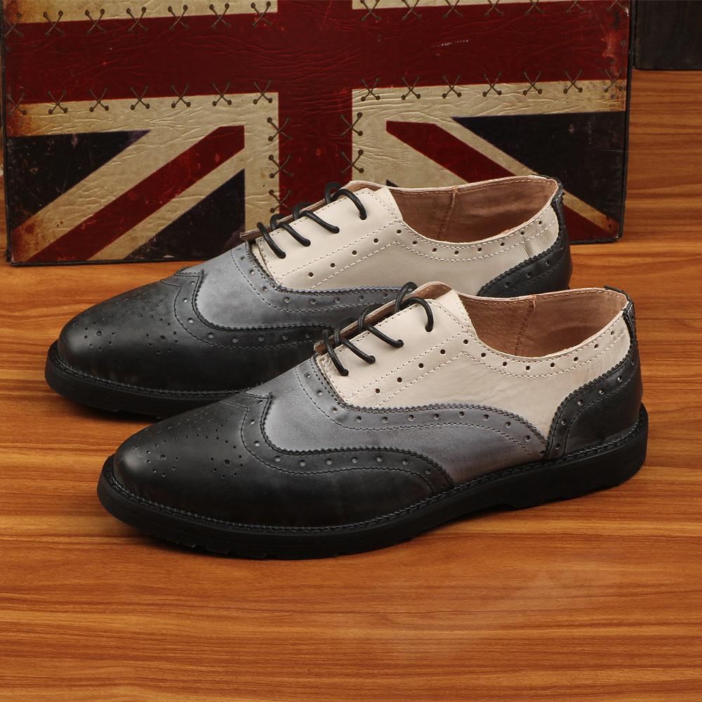 最有格调的英伦休闲男鞋款式图片大全