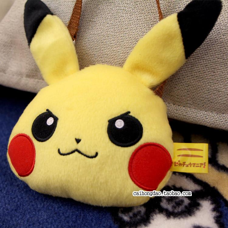 日单眼镜家宠物小精灵神奇宝贝pikachu皮卡丘毛绒