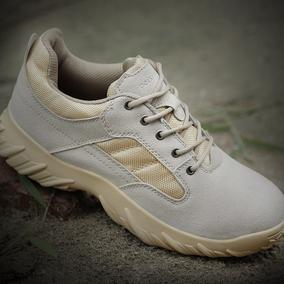 户外军迷低帮沙漠作战靴军靴男士特种兵作训战术靴军鞋夏季陆战靴