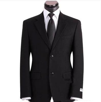 男装新款标准版型西服成套装男士面试上班正装大码工作西装男包邮