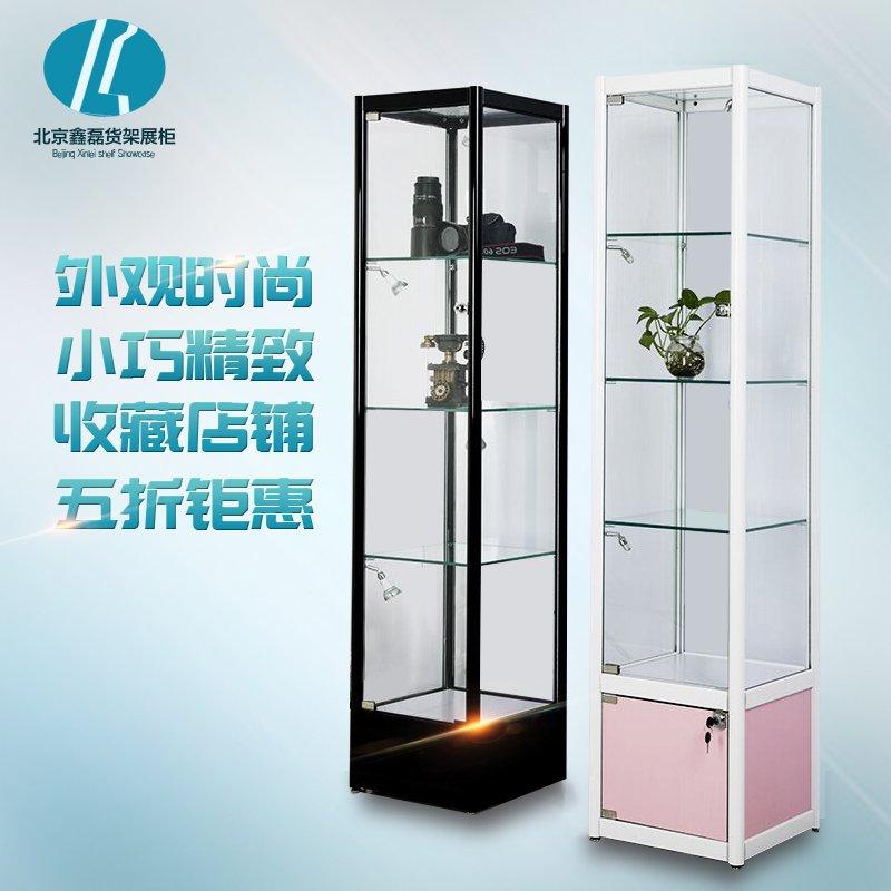 展示柜玻璃展示柜饰品化妆品展示柜珠宝展柜精品货架模型展示柜