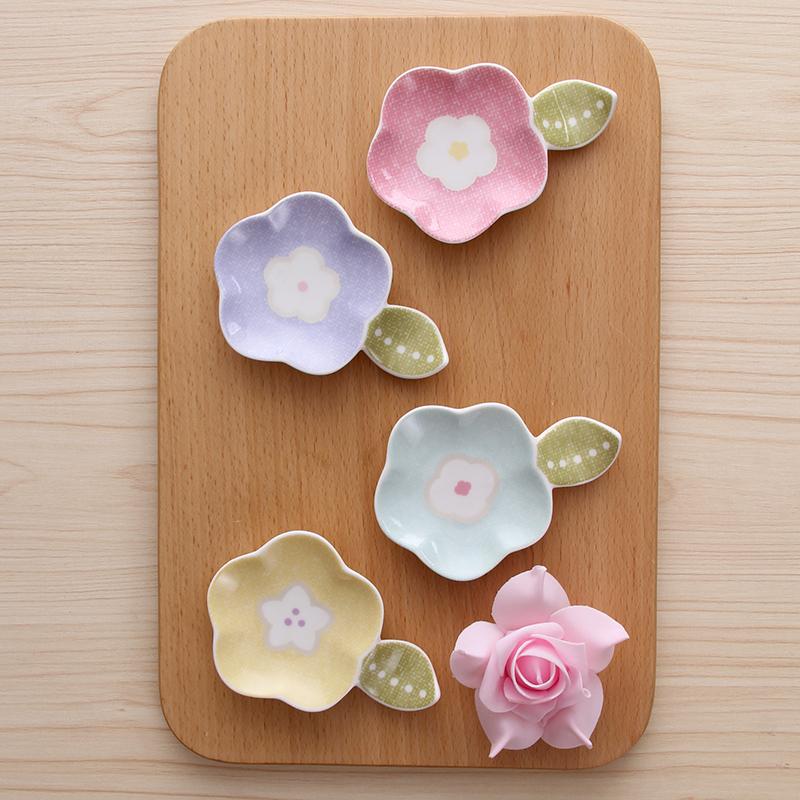 陶瓷可爱个性筷托礼盒4件装餐具日式筷枕包邮创意