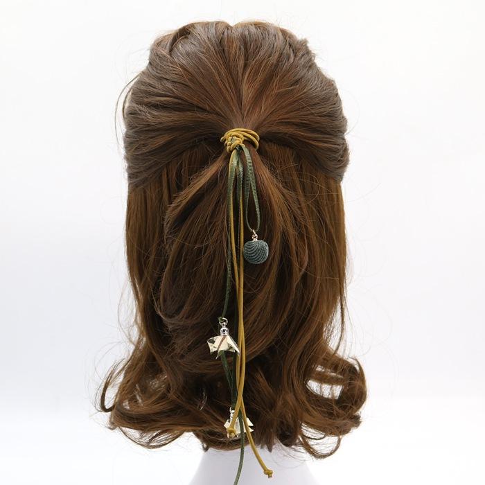 发饰 发圈发绳头饰个性 头绳 头发简约饰品飘带橡皮筋