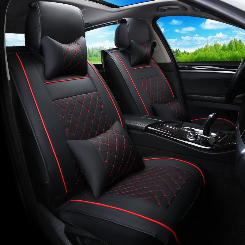 汽车坐垫四季通用起亚智跑k2k3k5现代ix35名图朗动套