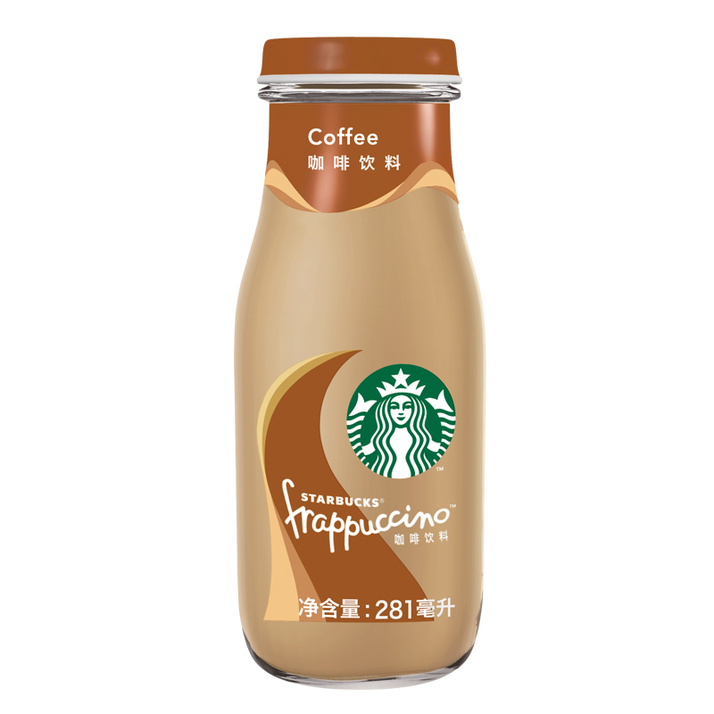 【天猫超市】starbucks/星巴克星冰乐咖啡味咖啡饮料281ml瓶装图片