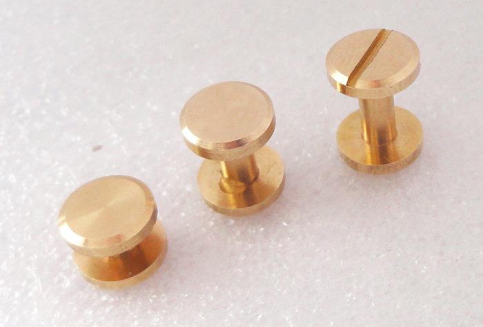 真皮带子螺丝五金包配件皮具纯铜扣子铆钉螺丝钉杆子手袋文具用品