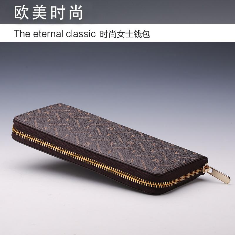 2016新款女士钱包长款多功能拉链钱包欧美钱夹大钞夹大容量手拿潮