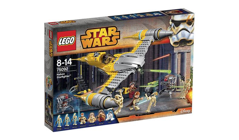 现货2015款正品 乐高 lego 75092 星球大战 纳布战机绝地阿纳金