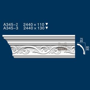 高档欧式石膏线条玻璃钢模具a345